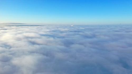 Nebel über Bad Schwalbach